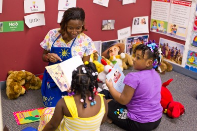 Children at a child care center in Mississippi. (Photo by Kim Palmer)