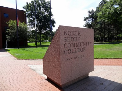 North Shore Community College in Massachusetts (Photo: Elizabeth Thomsen)
