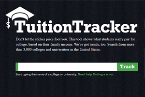 Click to try out the Tuition Tracker.